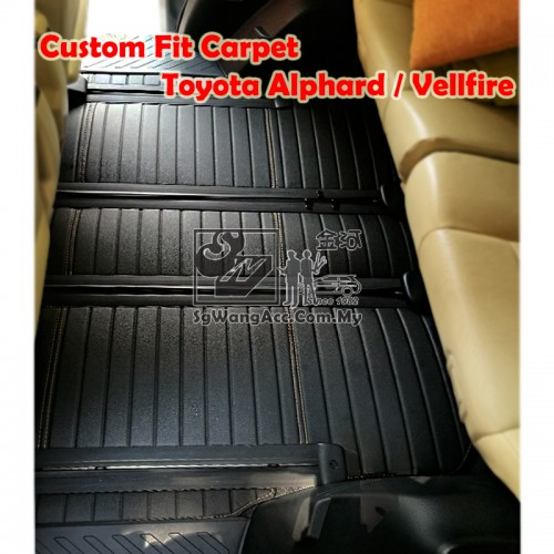 Custom Made Floor Mat - Fit for Toyota Alphard / Vellfire