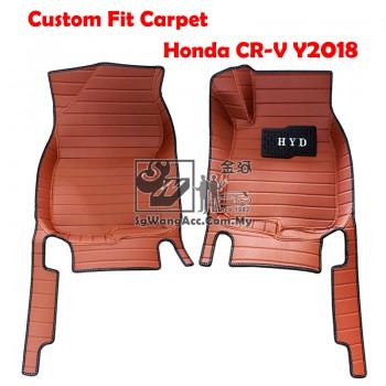 Custom Made Floor Mat - Fit for Honda CR-V Y2018