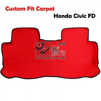 Custom Made Floor Mat - Fit for Honda Civic FD