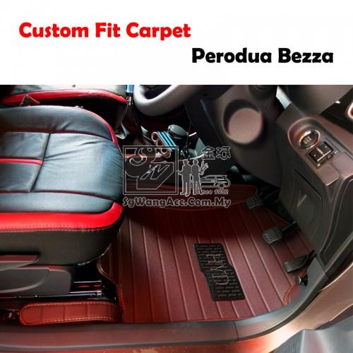 Custom Made Floor Mat - Fit for Perodua Bezza