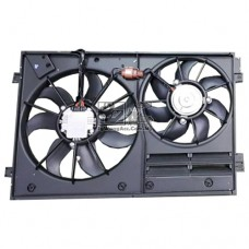 Volkswagen Polo Radiator Air-cond Fan Set