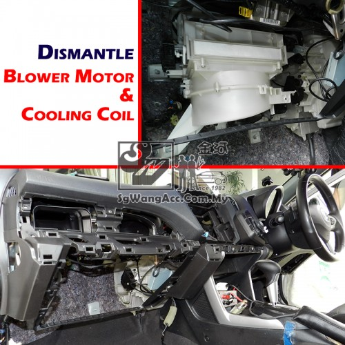 Honda Crz Air Cond Cooling Coil Evaporator