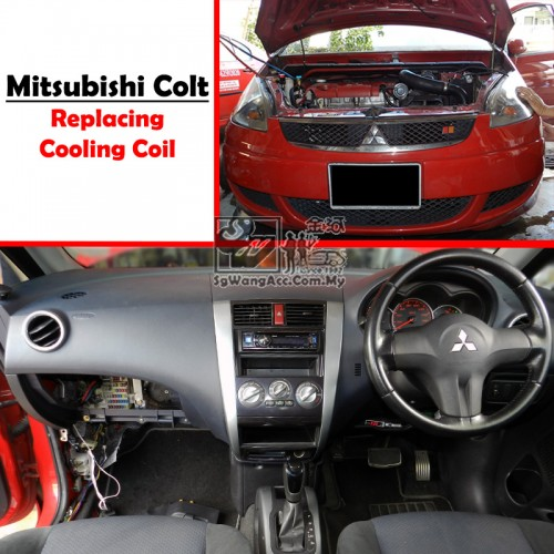 Mitsubishi Colt Air Cond Cooling Coil Evaporator