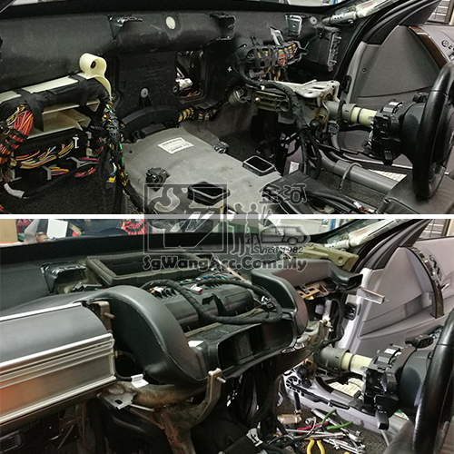 BMW E60 Air Cond Cooling Coil / Evaporator
