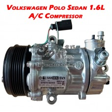 Volkswagen Polo Sedan (1.6L) Air Cond Compressor (Sanden)