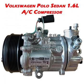 Volkswagen Polo Sedan (1.6L) Air Cond Compressor (Sanden)