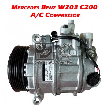 Mercedes-Benz C-Class W203 C200 Kompressor Air Cond Compressor