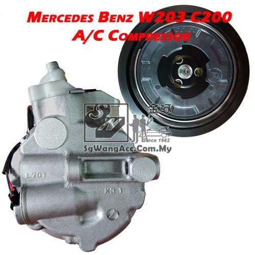 Mercedes-Benz C-Class W203 C200 Kompressor Air Cond Compressor