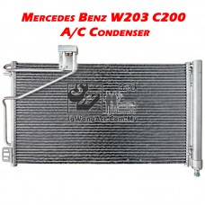 Mercedes-Benz C-Class W203 C200 Kompressor Air Cond Condenser