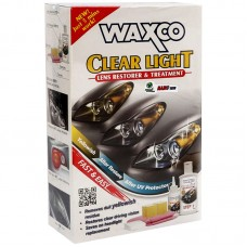 Waxco Head Lamp Clear Light Lens Restorer & Treatment