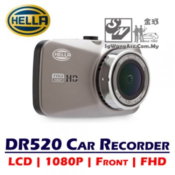 Hella DR520 Driving Video Recorder FHD (Front Camera)