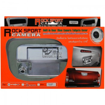 Built-in Rear View Camera Tailgate Chrome Cover (Toyota Hilux Vigo)