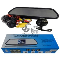 Reverse Camera & Rear View LCD Mirror