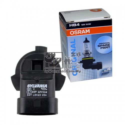 ORIGINAL Osram Sylvania Halogen Bulb HB4 9006 12V 51W For Head Light Fog