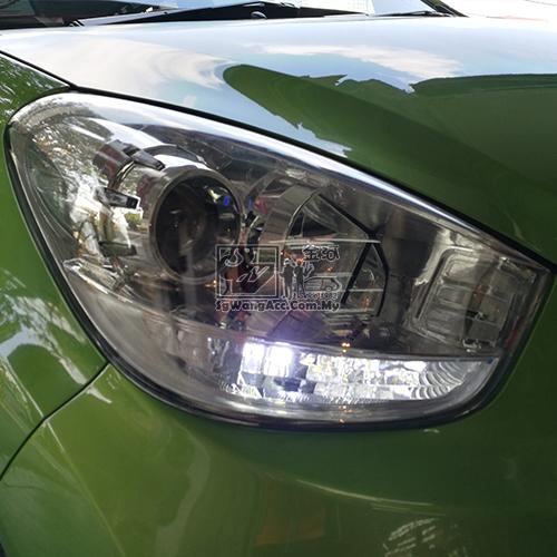 Two Tone LED Bulb (Turn Signal + Daytime Running Light) DRL