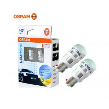 Osram T10 6700K Sky White LED Bulb