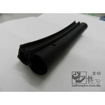 Vehicle door guard protector (black & rubber)