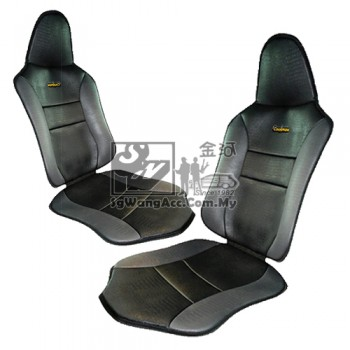 Coolmax Double Car Seat Mat Cover