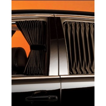 Universal Premium Car Curtain (Black)