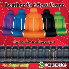 Leather PVC Custom Made Car Seat Cover - Saloon Car