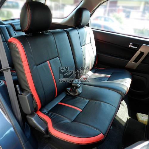leather pvc customised car seat cover mpv suv. Black Bedroom Furniture Sets. Home Design Ideas