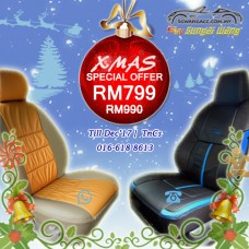 Leather PVC Customised Car Seat Cover - MPV/SUV