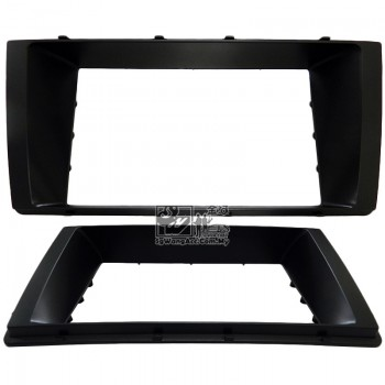 Double Din (2Din) Player Casing Panel - Perodua Myvi 2015 (Black)