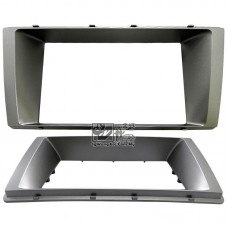 Double Din (2Din) Player Casing Panel - Perodua Myvi 2015 (Sliver)