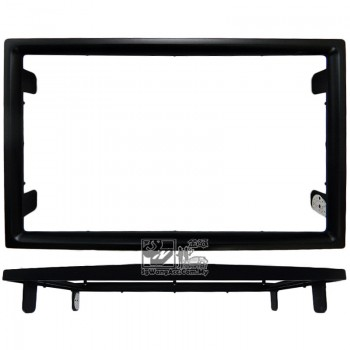 Double Din (2Din) Player Casing Panel - Proton Preve (Black)