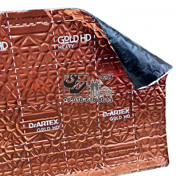 DrArtex Earth Gold HD Heavy Sound Proof & Vibration Damping Solution (4sqft)