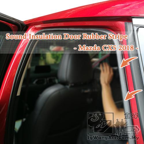 STP DrArtex Red Wind Car Door Seal Rubber (20 meter)