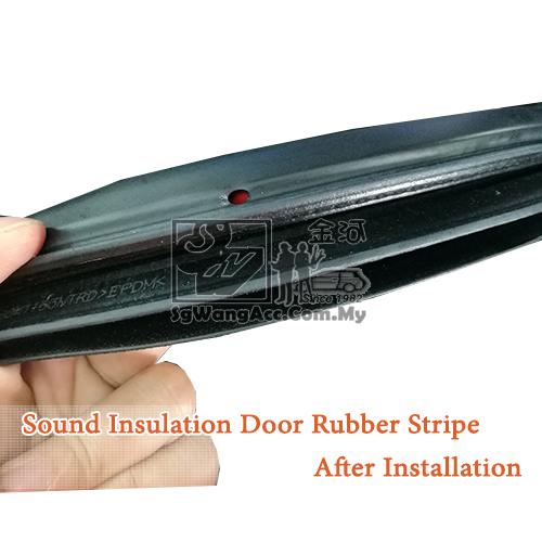 how to fix wind noise in car door