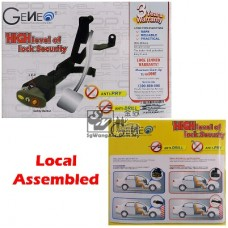Geneo Brake Pedal Lock (Made in Malaysia) - Custom Made