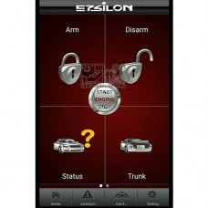 GPS Tracking Smart Phone Remote Vehicle Security System