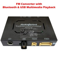AudioWork FM Radio & Video Converter with Bluetooth / USB for Multimedia Playback