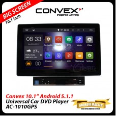 "Convex 10.1"" Android Master Universal Double Din Car DVD Player"