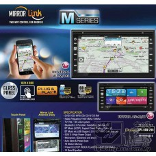 Mirror Link Double Din Touchscreen Car Player