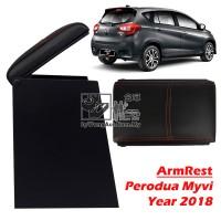 Perodua Myvi (Year 2018) Armrest (Black)
