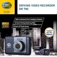Hella DVR DR780 Driving Video Recorder GPS WiFi FHD Front & Rear 2-Channel