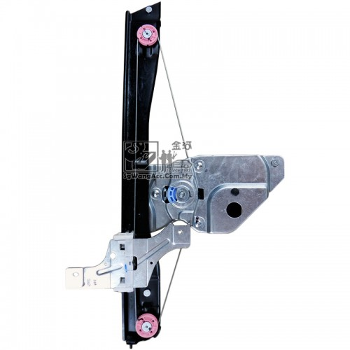 Peugeot 508 Power Window Regulator With Motor Front Right