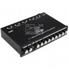 Caliber CPE-907 - 7.1 Band Parametric Equalizer w/Subwoofer Output