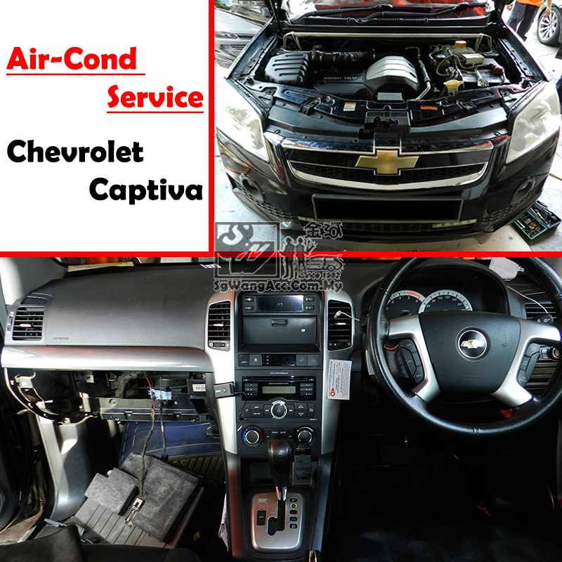 Chevrolet Captiva (VCDi Diesel Y2008) Full Air Cond Service