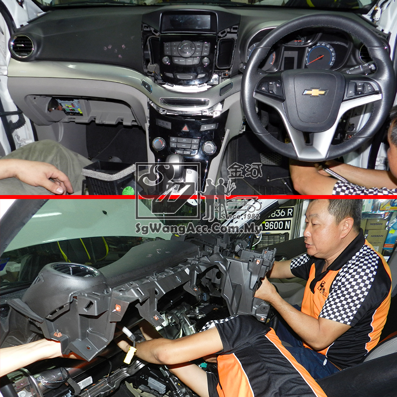 Chevrolet Orlando Internal Air Cond Service