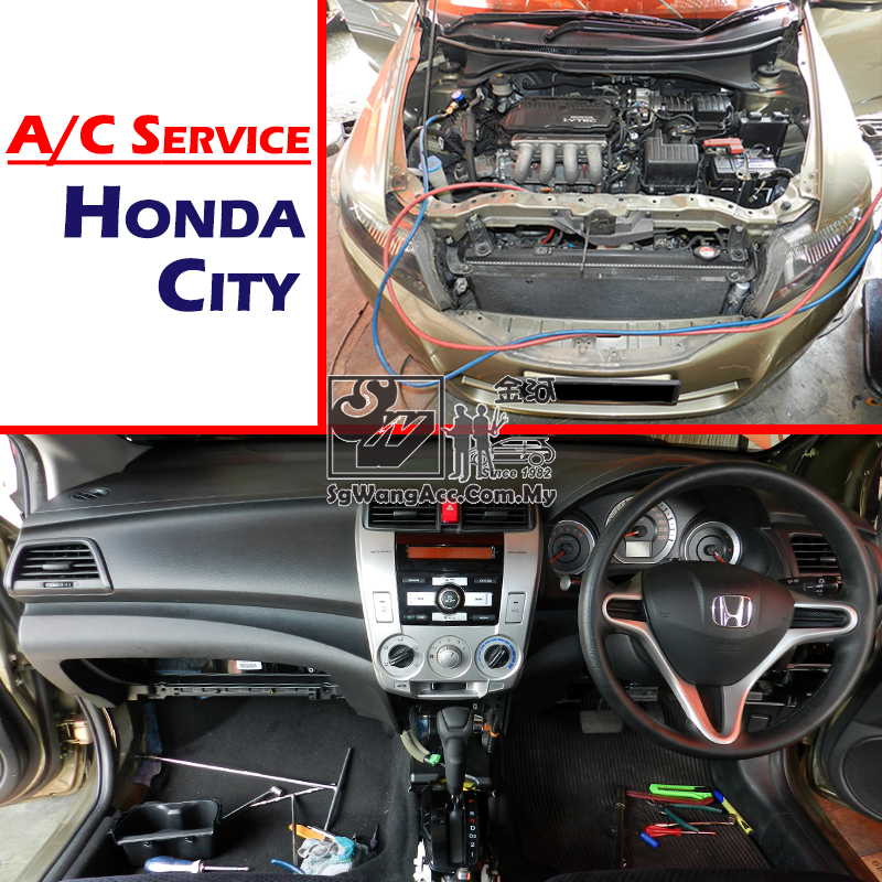 Honda City 2011 Full Air Cond Service