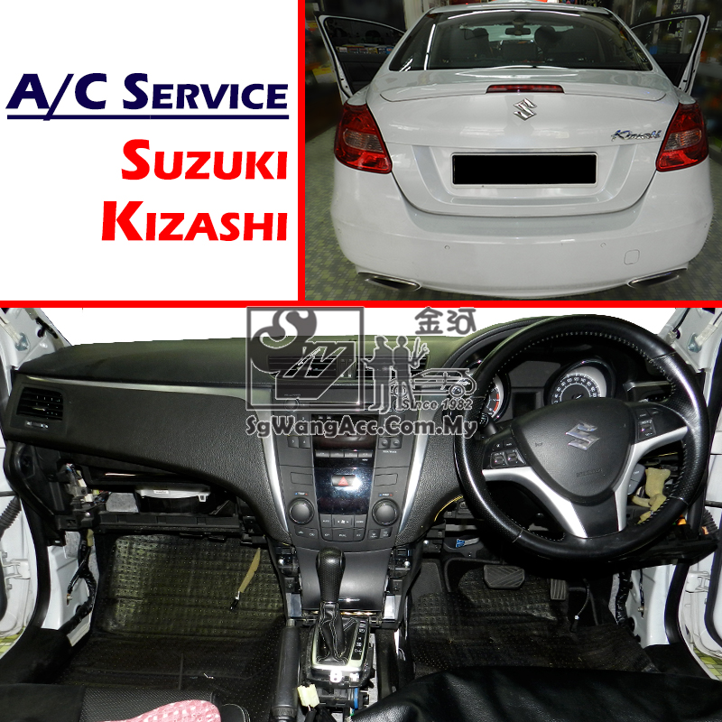 Suzuki Kizashi Internal Air Cond Service