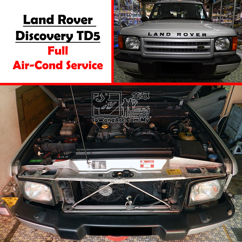 Land Rover Discovery TD5 Full Air Cond Service