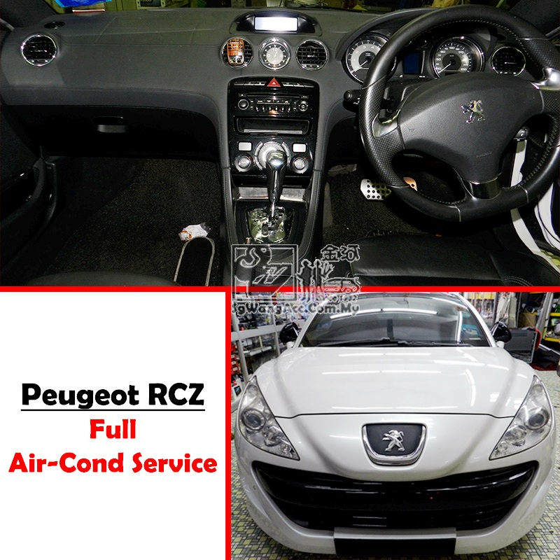 Peugeot RCZ Full Air Cond Service
