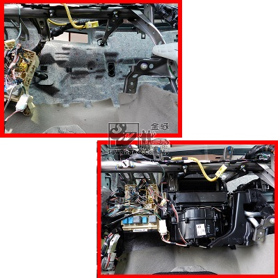 Full Air-cond Service & Replace Cooling Coil on Toyota Camry