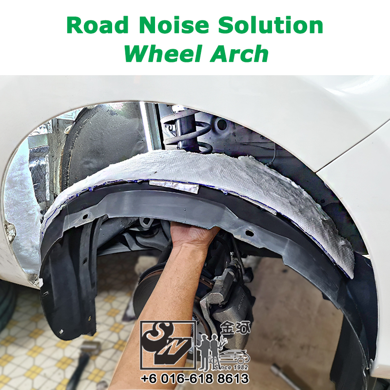 Sound Proof & Vibration Solution on Wheel Arch