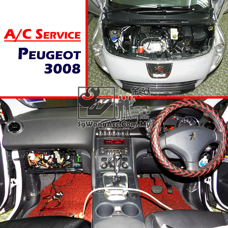Peugeot 3008 Internal Air Cond Service